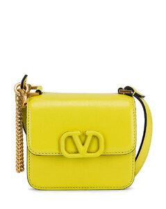 Micro VSling Shoulder Bag in Yellow