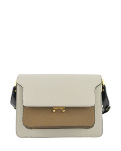 Saffiano leather Trunk bag