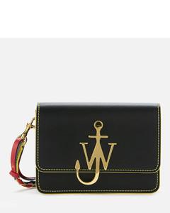 Women's Anchor Braided Logo Bag - Black