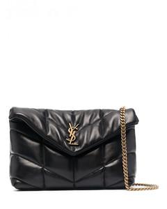 Monogram Loulou Puffer Mini Leather Shoulder Bag