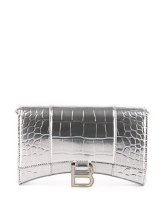 Silver Hourglass chain wallet