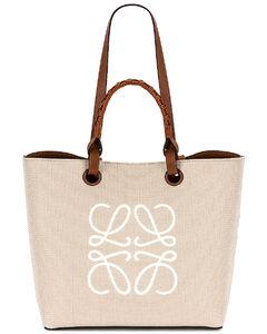 Anagram Tote Bag in Cream