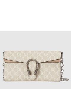 Trunk leather shoulder bag