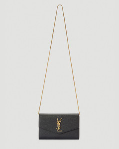 YSL Chain Shoulder Bag in Black