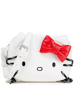 Woman + Hello Kitty Xs Embellished Printed Leather Camera Bag