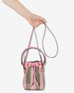 pink mon tresor mini bucket bag