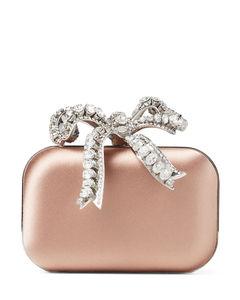 Mini Satin Cloud Clutch Bag