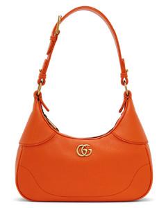 brown Marcie straw leather basket bag