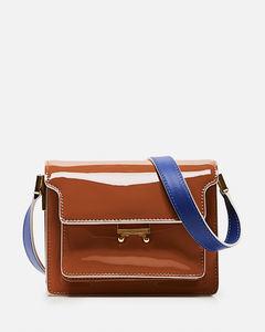 Trunk Mini leather shoulder bag