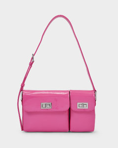 Handbag Billy In Pink Semi Patent Leather