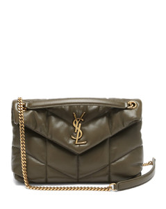 Loulou Puffer small leather shoulder bag