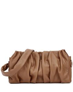 Vague brown leather shoulder bag
