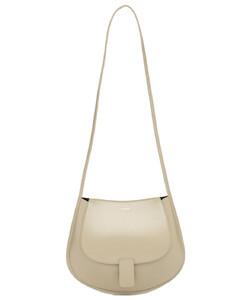 Sm Crescent Leather Shoulder Bag