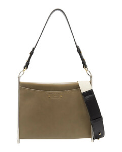 ChloéWoman Roy Convertible Textured-leather Shoulder Bag