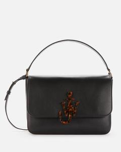 Women's Shoulder Anchor Bag - Black