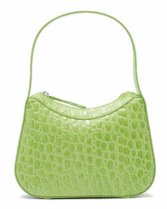 Kiki crocodile-effect leather shoulder bag