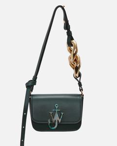 Women's Chain Nano Anchor Bag - Forest Green
