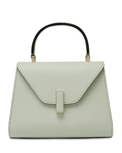 Mini Iside Grained Leather Bag