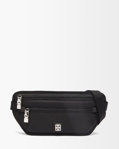 Mini bag in leather with shoulder strap