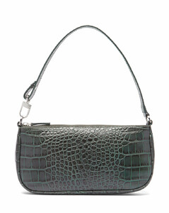 Rachel crocodile-effect leather shoulder bag
