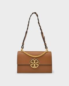 Miller Shoulder Bag in Marron Leather
