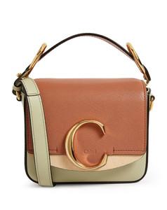 Mini Leather ChloéC Bag