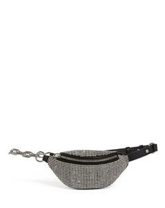 Mini Embellished Leather Attica Belt Bag