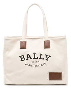 Puffin off-white leather shoulder bag