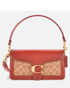 Women's Signature/Beadchain Tabby Shoulder Bag 26 - Tan Rust