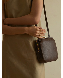 COMFIE VINTAGE LIZARD BAG [BRICK BROWN]