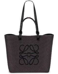 Anagram Tote Bag in Black