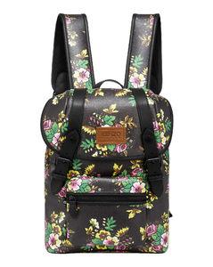 Leather Cross-Body Bag In Blue