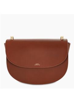 Brown Geneve cross-body bag