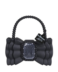Balloon leather shoulder bag