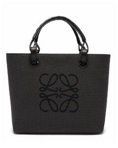Small Anagram-jacquard canvas tote bag