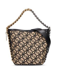 Hana Evening leather shoulder bag