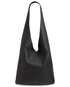Lux Grain Leather Shoulder Bag