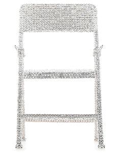 Embellished metal Chair crossbody bag