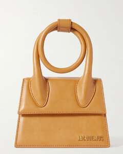 Le Chiquito Noeud Small Leather Shoulder Bag