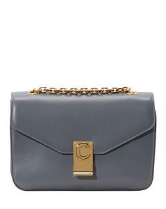 Medium C Bag in Shiny Calfskin