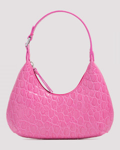 Baby Amber Grained Leather Bag