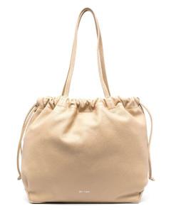 Holt black leather shoulder bag