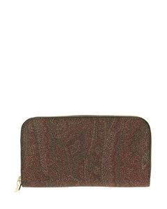 Handbag Ghost In Black Shiny Croc Embossed Leather