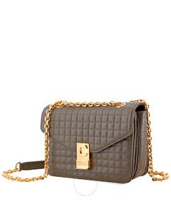 Open Box - Celine Khaki Medium C Shoulder Bag 187253BFC.15KH