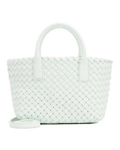 Charles straw handbag