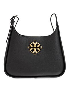 Miller Small Leather Hobo Shoulder Bag