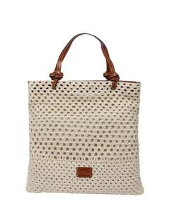 Handbag Roxy Mini in Yellow Leather