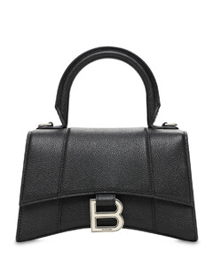 Xs Hourglass Grained Leather Bag