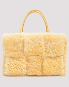 Arco Tote Shearling Bag