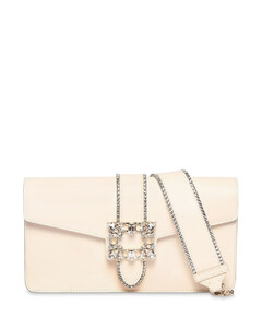 Miss Vivier Leather Clutch